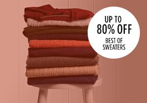 Up to 80% Off: Best of Sweaters