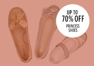 Up to 70% Off: Princess Shoes