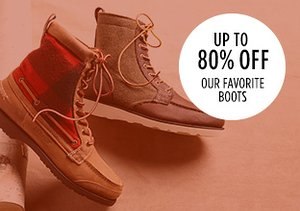 Up to 80% Off: Our Favorite Boots