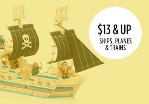 $13 & Up: Ships, Planes & Trains