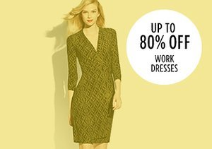 Up to 80% Off: Work Dresses