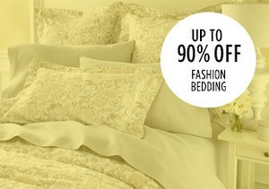 Up to 90% Off: Fashion Bedding