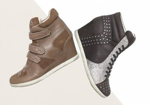 Higher Ground: Wedge Sneakers