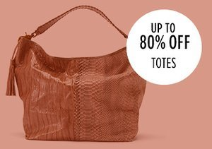 Up to 80% Off: Totes