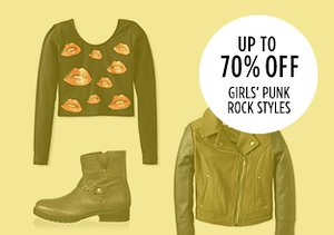 Up to 70% Off: Girls' Punk Rock Styles