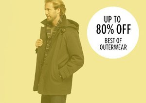 Up to 80% Off: Best of Outerwear