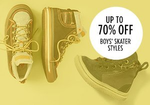 Up to 70% Off: Boys' Skater Styles