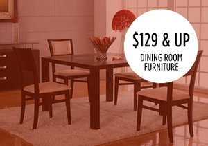$129 & Up: Dining Room Furniture