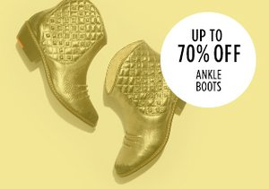 Up to 70% Off: Ankle Boots