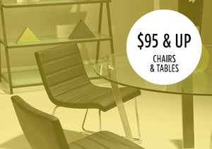 $95 & Up: Chairs & Tables