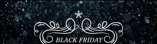 STARTS TODAY: Black Friday Sale!