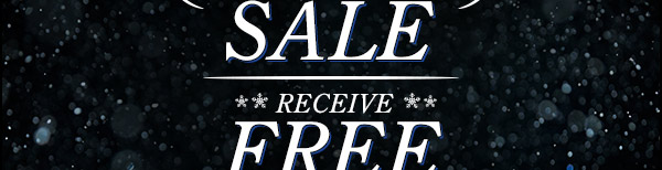 Receive free shipping on any size order!