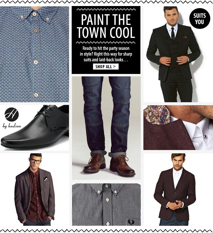 Paint the town cool - hit the party season in style