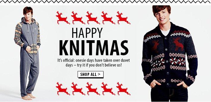 Happy Knitmas - onesises and novelty knits for the festive season