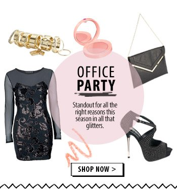Office party - standout for all the right reasons!