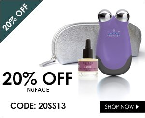 20% off NuFACE