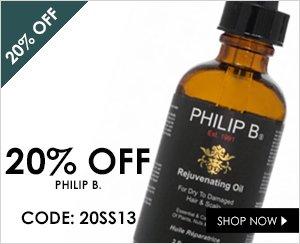 20% off Philip B.