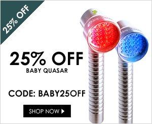 25% off Baby Quasar