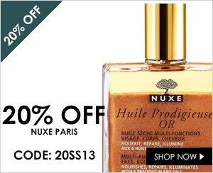 20% off Nuxe Paris