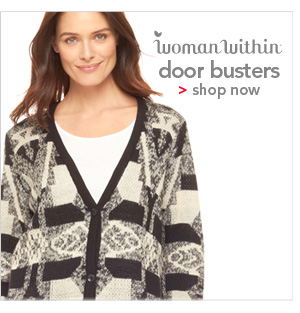 Shop Woman Within Door Busters