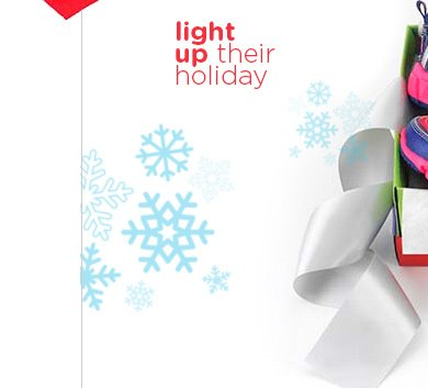 light up their holiday