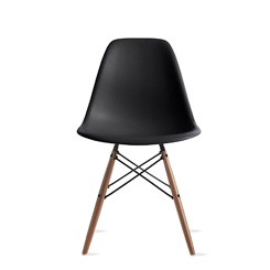 EAMES® MOLDED PLASTIC DOWEL-LEG SIDE CHAIR SAVE 15% + FREE SHIPPING