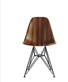 EAMES® MOLDED WOOD SIDE CHAIR SAVE 15% + FREE SHIPPING