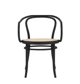 ERA ROUND ARMCHAIR WITH CANE SEAT SAVE 15% + FREE SHIPPING