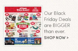 Our Black Friday Deals are bigger than ever!
