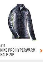 #11 NIKE PRO HYPERWARM HALF-ZIP