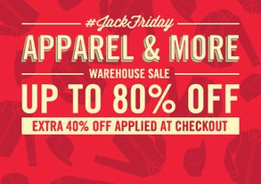 Shop JackFriday Warehouse Sale: Apparel