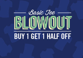 Shop Basic Tee Blowout