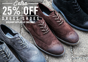 Shop Extra 25% Off: Damn Fine Dress Shoes