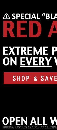 Red Alert Watch Sale