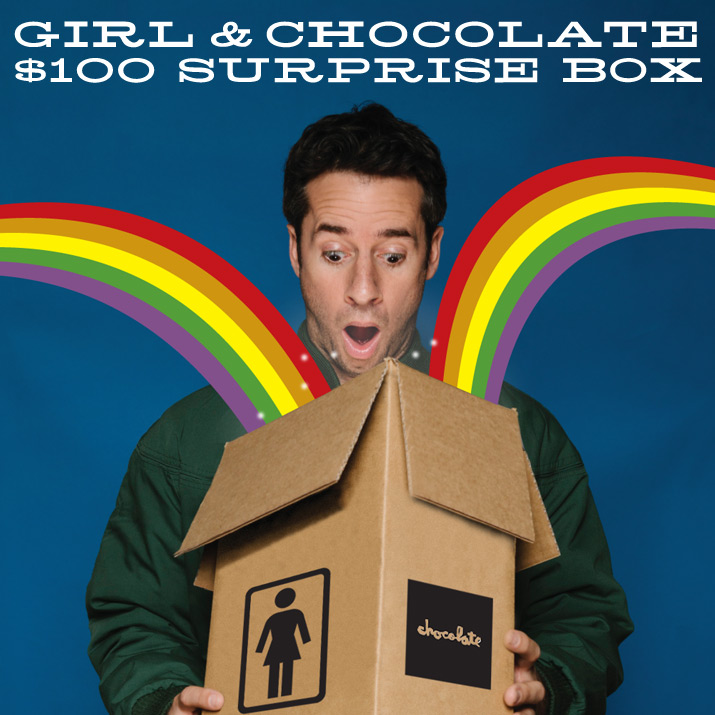 Girl & Chocolate Surprise Box