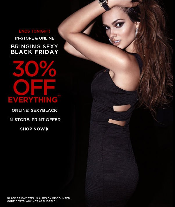 Bringing Sexy Black Friday