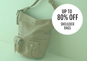 Up to 80% Off: Shoulder Bags