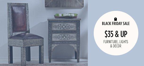 $35 & Up: Furniture, Lights & Décor
