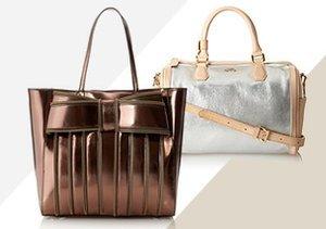Daytime Shine: Metallic Bags