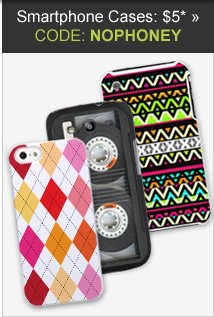 Smartphone Cases: $5 with code NOPHONEY