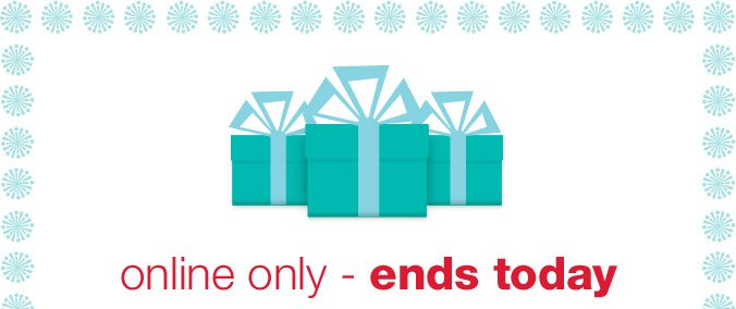 Online only - ends today