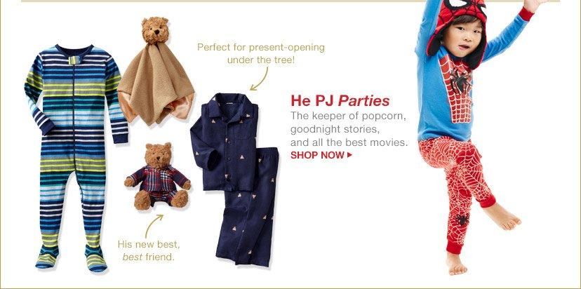 He PJ Parties | SHOP NOW