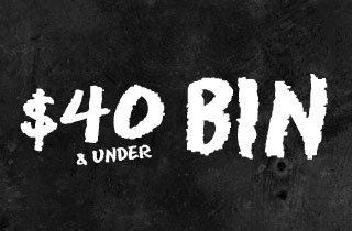$40 and Under Bin