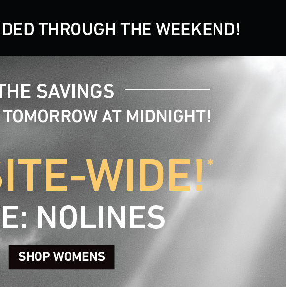 BLACK FRIDAY IS ON: 25% Off Site-Wide! Enter Code: NOLINES