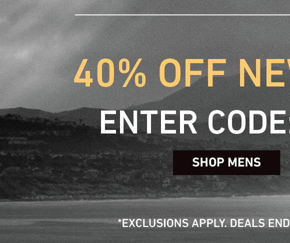 40% OFF NEW MEN'S JACKETS! ENTER CODE: BLACKJACK