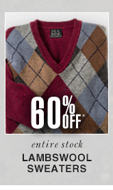 Lambswool Sweaters - 60% Off*