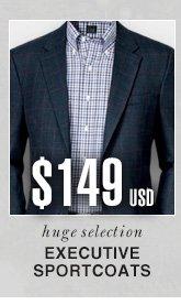 Executive Sportcoats - $149 USD