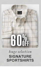 Signature Sportshirts - 60% Off*