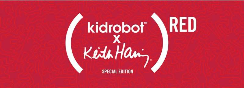 (Kidrobot x Keith Haring Special Edition) RED