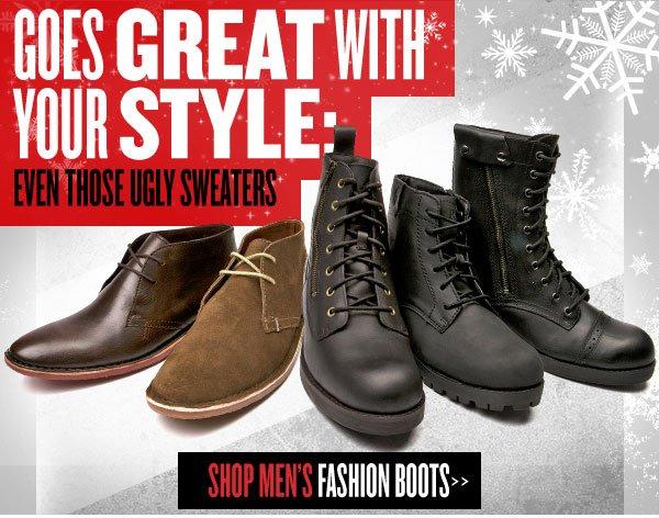 Shop Mens Fashion Boots
